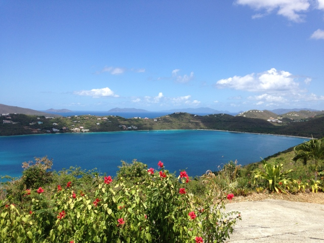 Magen's Bay - view from Drake's Seat lookout