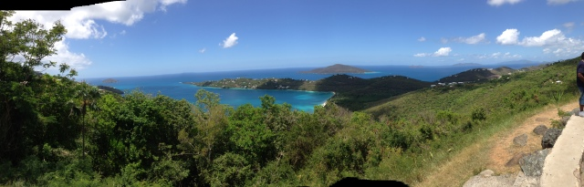 Panoramic view of Magen's Bay