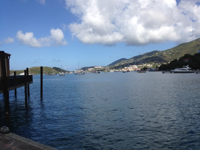 Monday morning at Yacht Haven Grande