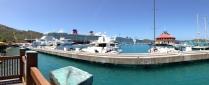 Ships in port