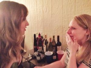 Weepy with Rachel