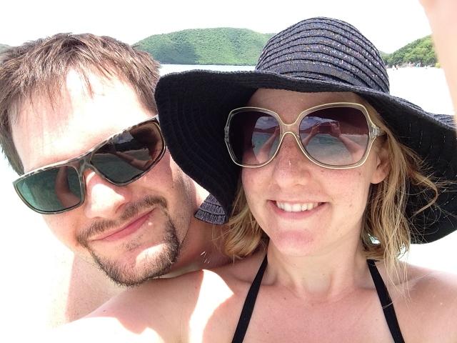 Cinnamon Bay selfie