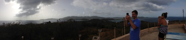 Panoramic view from Fort Segarra