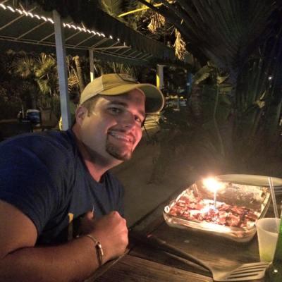 dan's 30th cake